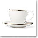 Lenox Continental Dining Gold Dinnerware Tea Cup Sauce