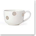 Kate Spade China by Lenox, Deco Dot Beige Latte Mug