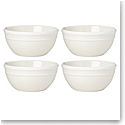 Kate Spade China by Lenox, Sculpted Stripe Cream All Purpose Bowl Set Of Four