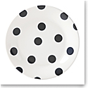 Kate Spade China by Lenox, Deco Dot Black Salad Plate Set Of Four
