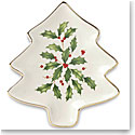 Lenox China Hosting the Holiday Tree Tray