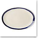 Lenox Market Plate Indigo Dinnerware Oval Platter