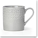 kate spade new york Lenox Stoneware Willow Drive Grey Mug