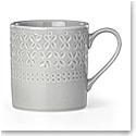 Kate Spade China by Lenox, Stoneware Willow Drive Grey Mug