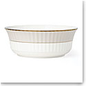 Lenox Pleated Colors Grey Dinnerware Serving Bowl