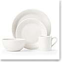 Kate Spade New York, Lenox Stoneware Willow Drive Cream 4pc Place Setting
