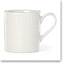 Kate Spade New York, Lenox Stoneware Willow Drive Cream Mug