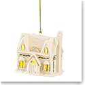 Lenox 2021 Christmas Village Lit Toy Shoppe Ornament