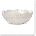 Lenox Chelse Muse Dinnerware Sculp Grey Serving Bowl