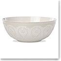 Lenox Chelse Muse Dinnerware Grey Serving Bowl