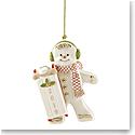 Lenox 2019 Sledding Gingerbread Ornament