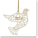 Lenox 2019 A Year to Remember Ornament, Dove