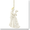 Lenox 2019 Bride and Groom Ornament