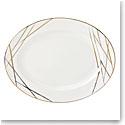 """Lenox Abergreen Dinnerware Oval Platter 16"""""""