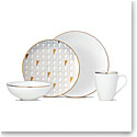 Lenox Trianna White Dinnerware 4 Piece Place Setting
