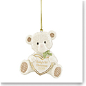 Lenox 2019 Baby's 1st Christmas Bear Ornament