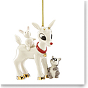 Lenox 2019 Rudolphs Furry Friends Ornament