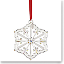 Lenox 2019 Silver Snow Majesty Ornament
