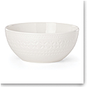 Kate Spade New York, Lenox Stoneware Willow Drive Cream Serve Bowl