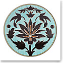 Lenox Global Tapestry Aquamarine Lotus Dinnerware Accent Plate