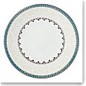 Lenox Global Tapestry Aquamarine Lotus Dinnerware Dinner Plate