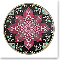Lenox Global Tapestry Garnet Mandala Dinnerware Accent Plate