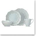 Lenox Chelse Muse Dinnerware Scallop Blue 4 Piece Place Setting