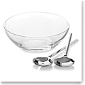 kate spade new york Lenox Gramercy Salad Bowl Set with Metal Servers