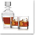 Lenox Tuscany Classics 3-Piece Whiskey Decanter and Glass Set