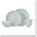 Lenox Chelse Muse Dinnerware Fleur Blue 4 Piece Place Setting
