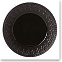 Lenox Chelse Muse Dinnerware Fleur Matt Black Accent Plate