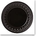 Lenox Chelse Muse Dinnerware Fleur Matt Black Dinner Plate