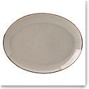 Lenox Trianna Taupe Dinnerware Oval Platter