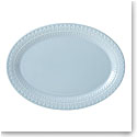 kate spade new york Lenox Stoneware Willow Drive Blue Platter