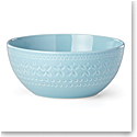 Kate Spade China by Lenox, Stoneware Willow Drive Blue Serve Bowl