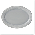 kate spade new york Lenox Stoneware Willow Drive Grey Platter
