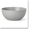 kate spade new york Lenox Stoneware Willow Drive Grey Serve Bowl