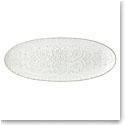 "Lenox Global Tapestry Stoneware Oval Server White 21.5"""