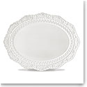 Lenox Chelse Muse Dinnerware Rct White Scallop Platter