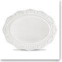 Lenox Chelse Muse Dinnerware Rct White Scallop Platter
