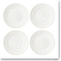 Lenox Chelse Muse Dinnerware Rct White Tidbits Set Of Four