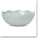 Lenox Chelse Muse Dinnerware Sculp Rct Blue Serving Bowl