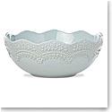 Lenox Chelse Muse Dinnerware Sculp Rct Blue Serving Bowl