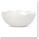 Lenox Chelse Muse Dinnerware Sculp Rct White Serving Bowl