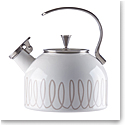 Kate Spade New York, Lenox Charlotte St Metal Kettle Gray