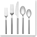 kate spade new york Lenox flatware 18/10 Stainless Steel Mott Street 5 Pc Set Stainless Steel