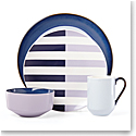 kate spade new york Lenox Stoneware Nolita Blue 4 Piece Place Setting