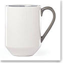kate spade new york Lenox Stoneware Nolita Gray Mug