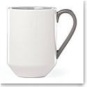 kate spade new york Lenox Stoneware Nolita Gray Mug