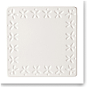 Kate Spade New York, Lenox Stoneware Willow Drive Cream Trivet, Square